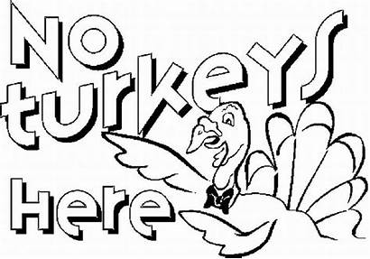 Thanksgiving Coloring Pages Printable Disney Turkeys Happy
