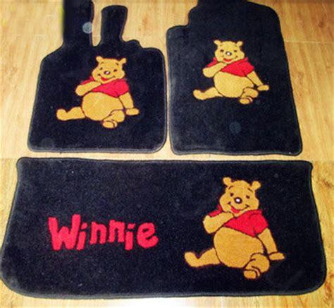 buy wholesale winnie the pooh tailored trunk carpet cars floor mats velvet 5pcs sets for honda