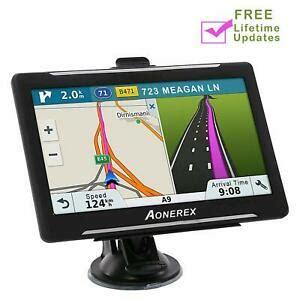 Aonerex Sat Nav for Car Truck Lorry 7 Inch 8GB 256MB GPS ...