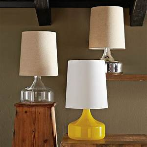 perch table lamp clear west elm With perch table lamp yellow