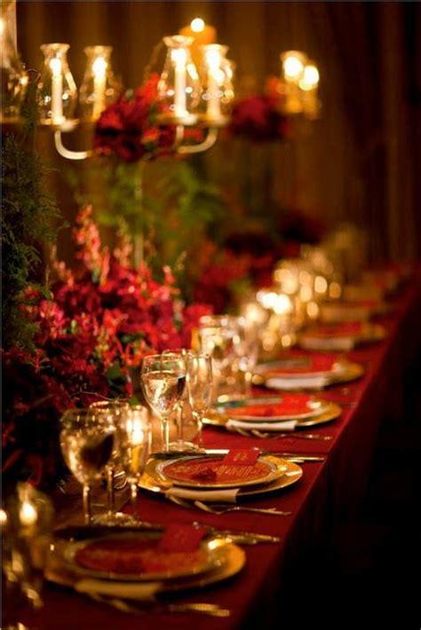 traditional setting  feels regal christmas table