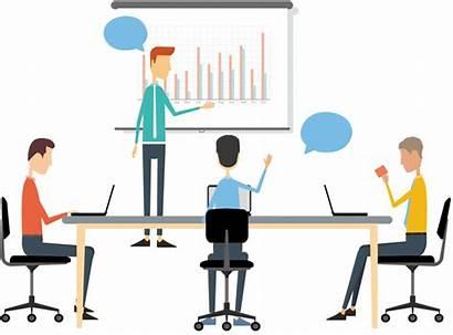 Business Presentation Meeting Coach Clipart Cartoon Giving