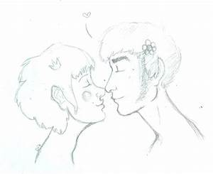 eskimo kisses by beulahry on deviantART