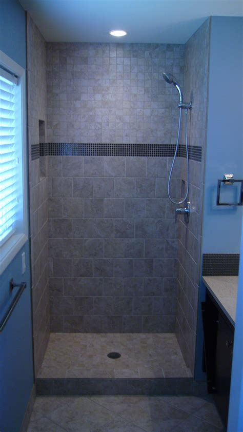 new tiled shower stall building companies tile showers