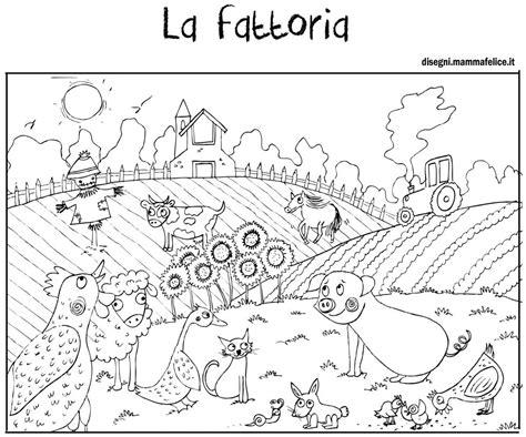 colorare on line gratis per bambini disegno per bambini da colorare gratis fattoria animali