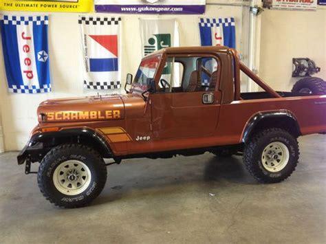 jeep scrambler 1982 purchase used 1982 jeep cj8 scrambler base sport utility 2