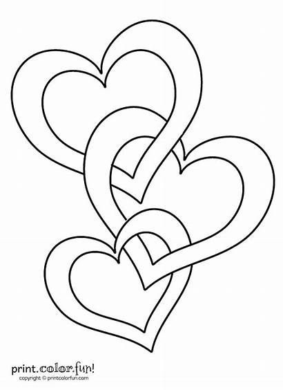 Hearts Connected Coloring