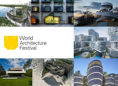 Shortlist Announced For World Architecture Festival Awards