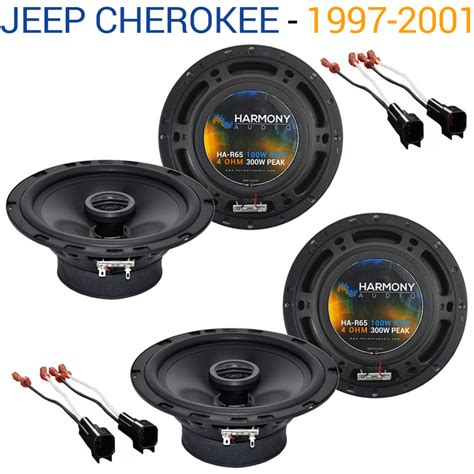 jeep 1997 2001 factory speaker replacement harmony 2 r65 package new ha spk package1239