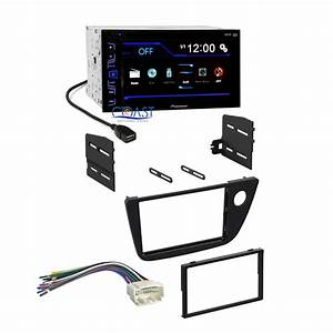 Pioneer Car Radio Stereo 2 Din Dash Kit Wiring Harness For