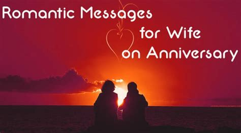 romantic messages  wife  anniversary