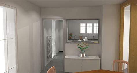 cuisine et salle à manger ouverture entre cuisine et salle a manger conceptions de