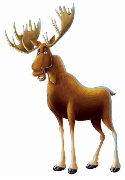Moose Cartoon Background Transparent Elk Pngimg Animals
