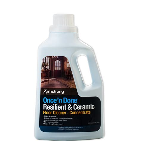 Armstrong Once 'n Done No Rinse Floor Cleaner Concentrate