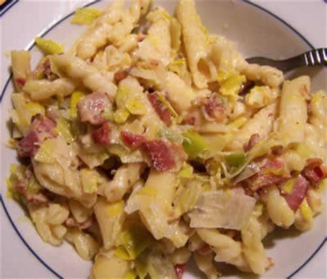 recette avec lardons et pates pates poireaux lardons thermomix recette facile pour vous