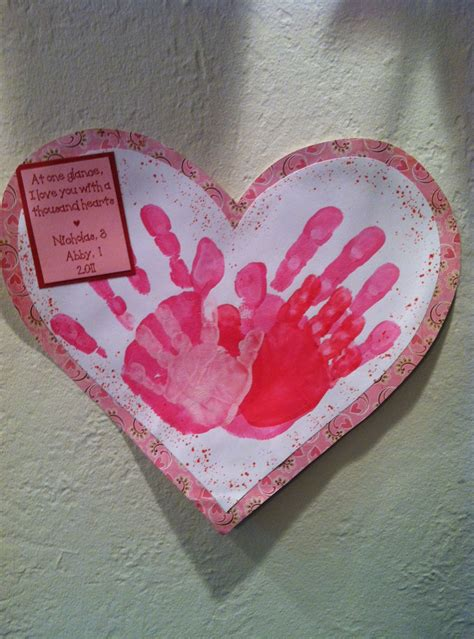 st valentine for preschool s day handprint crafts the suede sofa 744