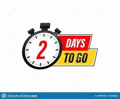 Vector Countdown Days Timer Icon Clock Illustration