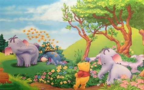 Winnie The Pooh Eeyore And Elephant Heffalump Summer