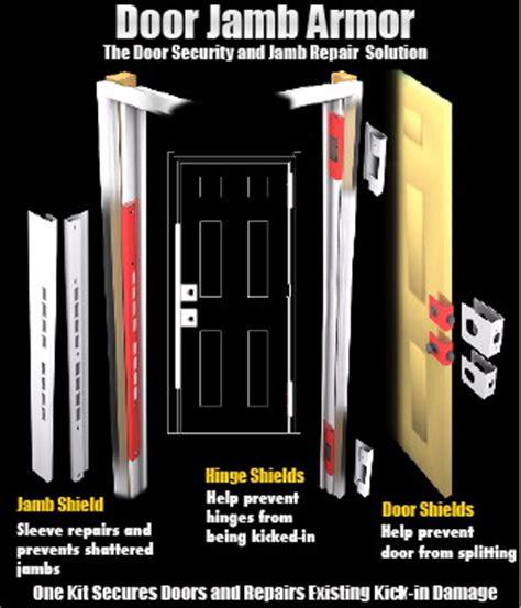 how to secure a door from being kicked in door jamb armor 174 door security solution exceeds all