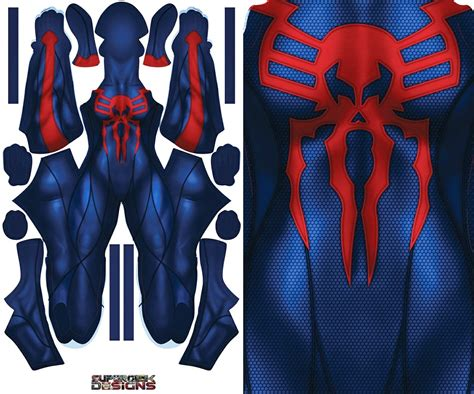 female spider man  pattern file supergeek designs