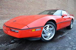 Chevrolet Corvette Hatchback 1990 Red For Sale