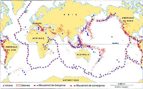 Carte Des Volcans Actifs Dans Le Monde by A La D 233 Couverte Des Volcans La R 233 Partition Des Volcans
