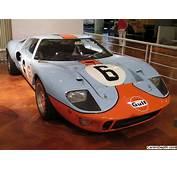 An Original Gulf Livery Car  1968 & 1969 LeMans Winning