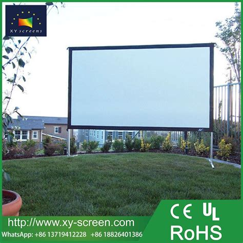 xyscreen   big size outdoor portable fast fold