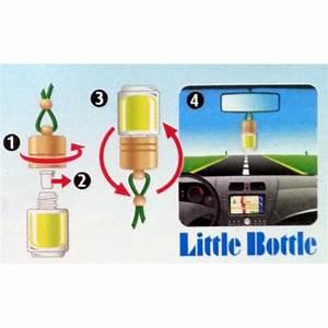 Désodorisant Voiture Naturel : d sodorisant parfum voiture little bottle pomme aquacars ~ Teatrodelosmanantiales.com Idées de Décoration