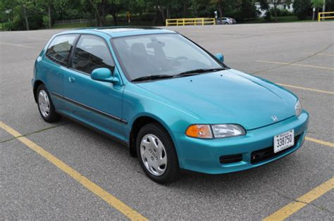 1993 93 Honda Civic Si  Excellent Condition For Sale In