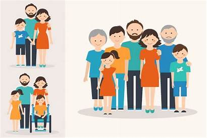 Types Families Different Children Illustration Nuclear Nidist
