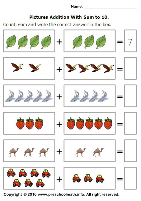 adding with pictures worksheets basic addition worksheets addition alistairtheoptimist