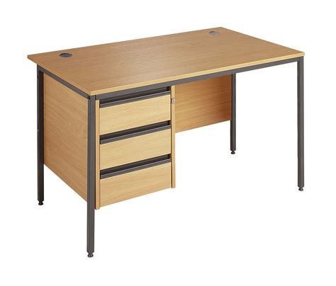 desk with drawers maestro office desk with drawers