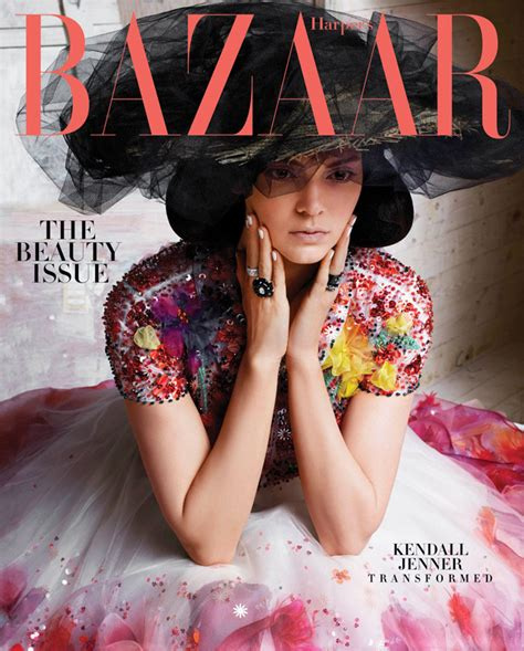 Kendall Jenner On The Cover Of Harper's Bazaar