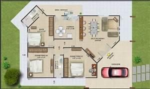 20 planos de casas chicas planos y fachadas todo para for Plan de maison 200m2 17 planos de casas y plantas arquitect243nicas de casas y
