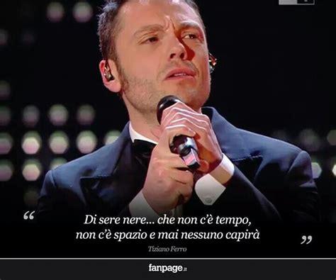 Testo Nere by Quot Sere Nere Quot Tiziano Ferro Tiziano Ferro Songs Lyrics
