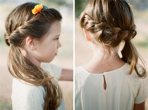Wedding Hairstyles For Girls : Best 25+ Little Girl Ponytails Ideas On Pinterest