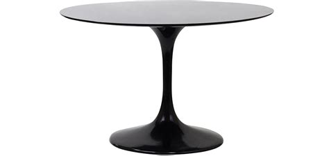 table ronde de cuisine pas cher table ronde tulipe fibre de verre style eero saarinen