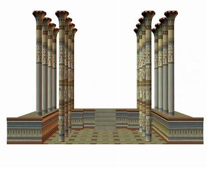 Egyptian Egypt Columns Forgetmenot