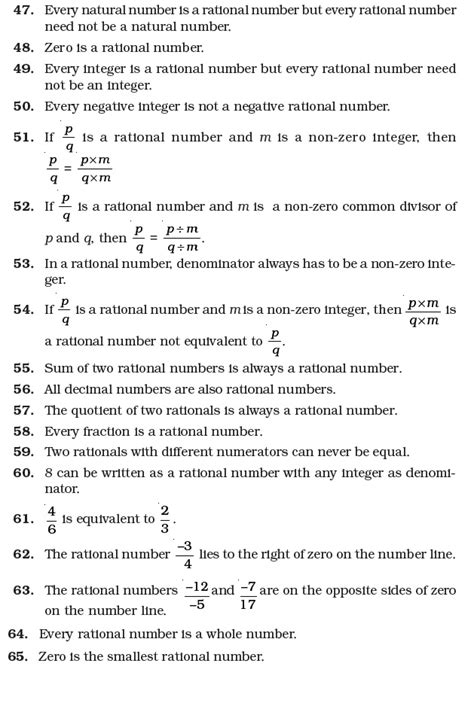 class 7 important questions for maths rational numbers aglasem schools