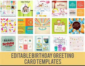 Birthday Card Templates Free Download