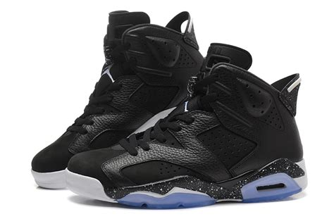 nike shoes for sale air 6 oreo black speckled