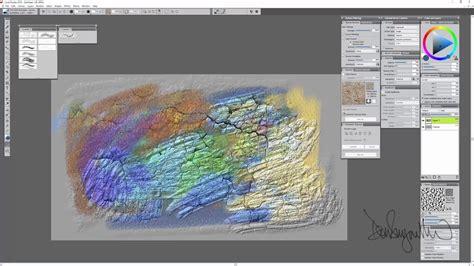 corel painter  digital art software   texture