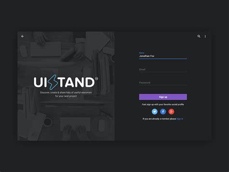 beautiful dark ui concepts  design inspiration