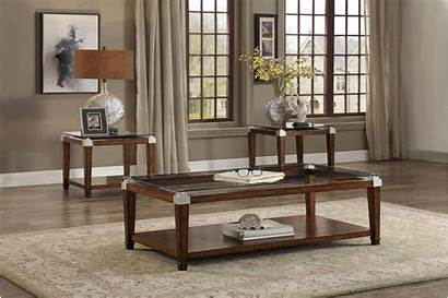 Coffee End Glass Tables Occasional Paseo Homelegance