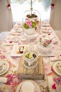 Kara's Party Ideas Colorful Tea Party | Kara's Party Ideas