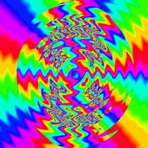 Trippy Rainbow Rainbows Pinterest