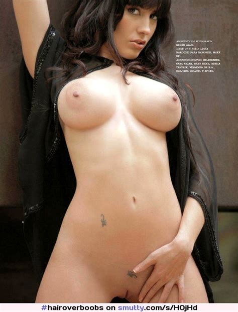 Brunette Nude Naked Tits Belly Tattoo Shaved Innie