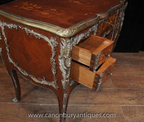 table bureau antique louis xv knee desk writing table bureau 1920