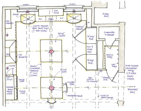 kitchen island design plans week 2 of a traditional kitchen design function then
